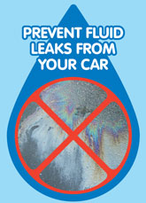 Prevent fluid leaks from your car
