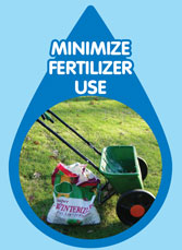 minimize fertilizer